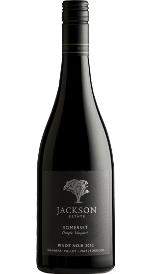 JACKSON ESTATE Somerset Pinot Noir (Last Stocks) 2012 (750ml)