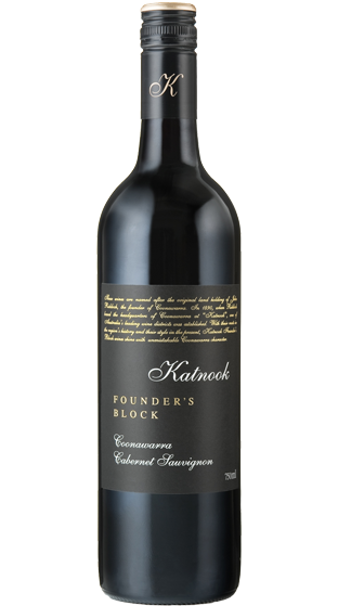 KATNOOK ESTATE Founder's Block Cabernet Sauvignon 2017 (750ml)