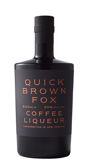QUICK BROWN FOX Coffee Liqueur 500ml  (500ml)