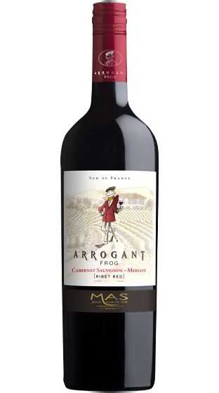 ARROGANT FROG Ribet Red Cabernet / Merlot 2019 (750ml)