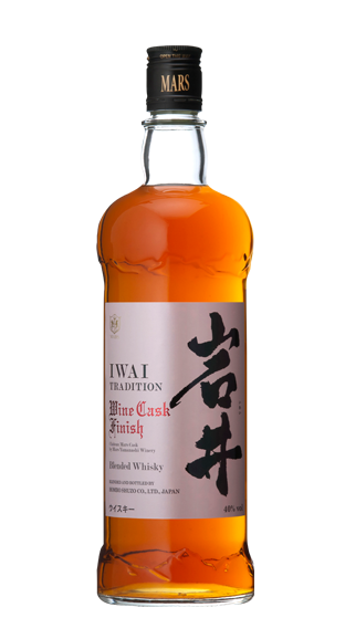 MARS WHISKY Iwai Tradition Wine Cask Finish 750ml  (750ml)