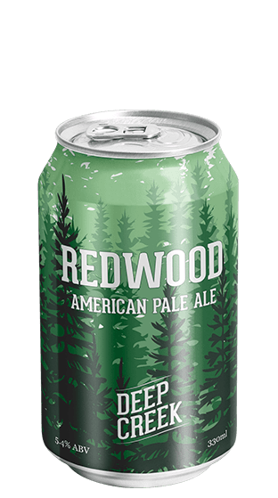 DEEP CREEK Redwood American Pale Ale 330ml 6 Pack Cans  (330ml)