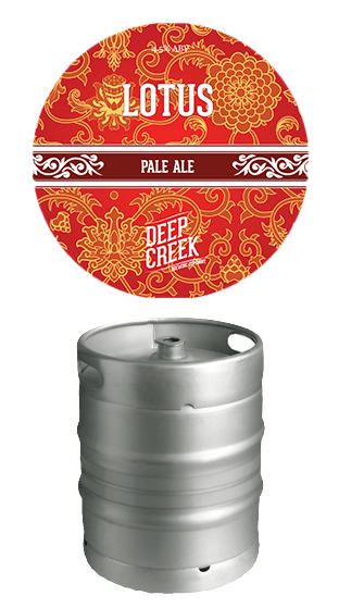 DEEP CREEK Lotus Pale Ale Steel Keg  (50.00L)
