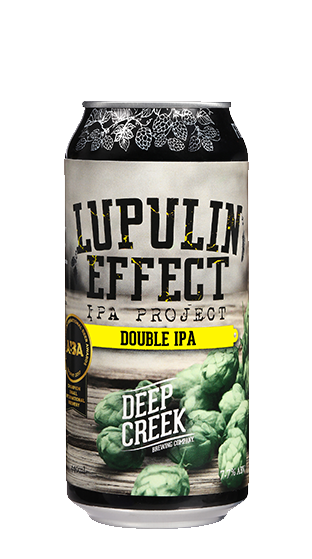 DEEP CREEK Lupulin Effect IPA 400ml 12 Pack  (440ml)