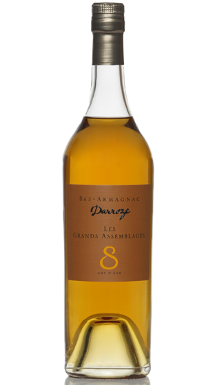 DARROZE 8 Year Old Armagnac  (700ml)