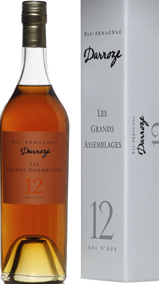 DARROZE 12 Year Old Armagnac  (700ml)