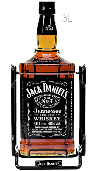 JACK DANIELS Old No:7 with Cradle 3000ml  (3.00L)