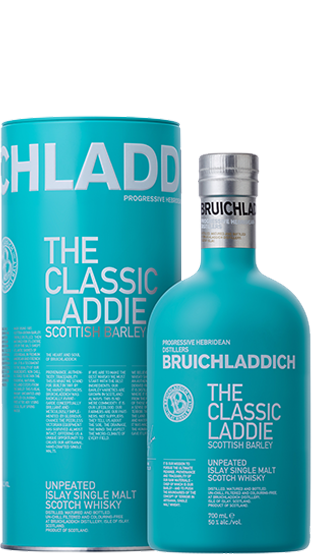 BRUICHLADDICH Classic Laddie Scottish Barley Whisky 700ml  (700ml)