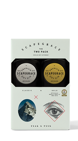 SCAPEGRACE Gin Twin Pack 2 X 200ml  (400ml)