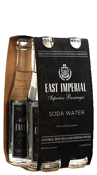 EAST IMPERIAL Soda Water 6x4 Pk (24x150ml)  (3.60L)