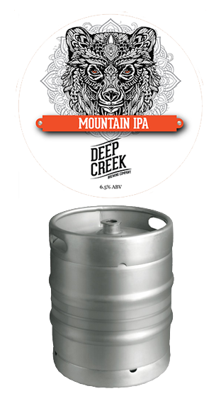 DEEP CREEK Strength IPA 50l Keg  (50.00L)
