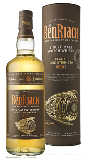 BENRIACH Peated Batch 1 Cask Strength  (700ml)