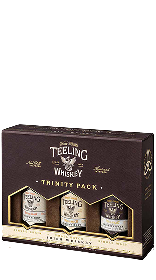 TEELING IRISH WHISKEY Trinity Pack  (150ml)
