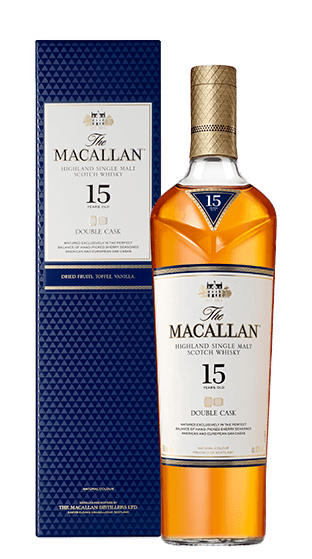 THE MACALLAN 15 Year Old Double Cask 700ml  (700ml)