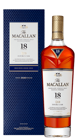 THE MACALLAN 18 Year Old Double Cask 700ml  (700ml)